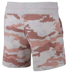 Nike Bottoms - NIKE Girl's Sportswear Gym Vintage Camo Shorts NWT